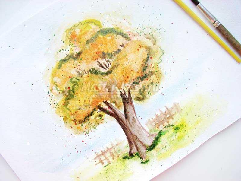 1483707141_20 Как нарисовать дерево