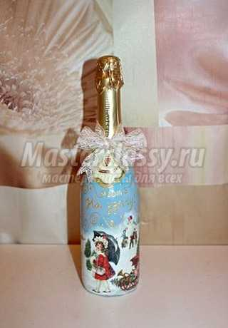 Оформление шампанского: мастер-классы для новичков