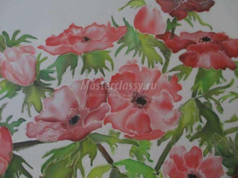 художественная роспись тканей