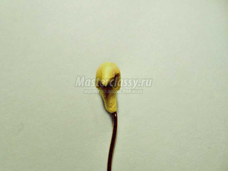 орхидея из фоамирана мастер класс