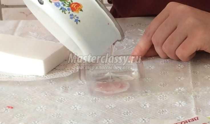 Мыло ручной работы с 3D картинкой