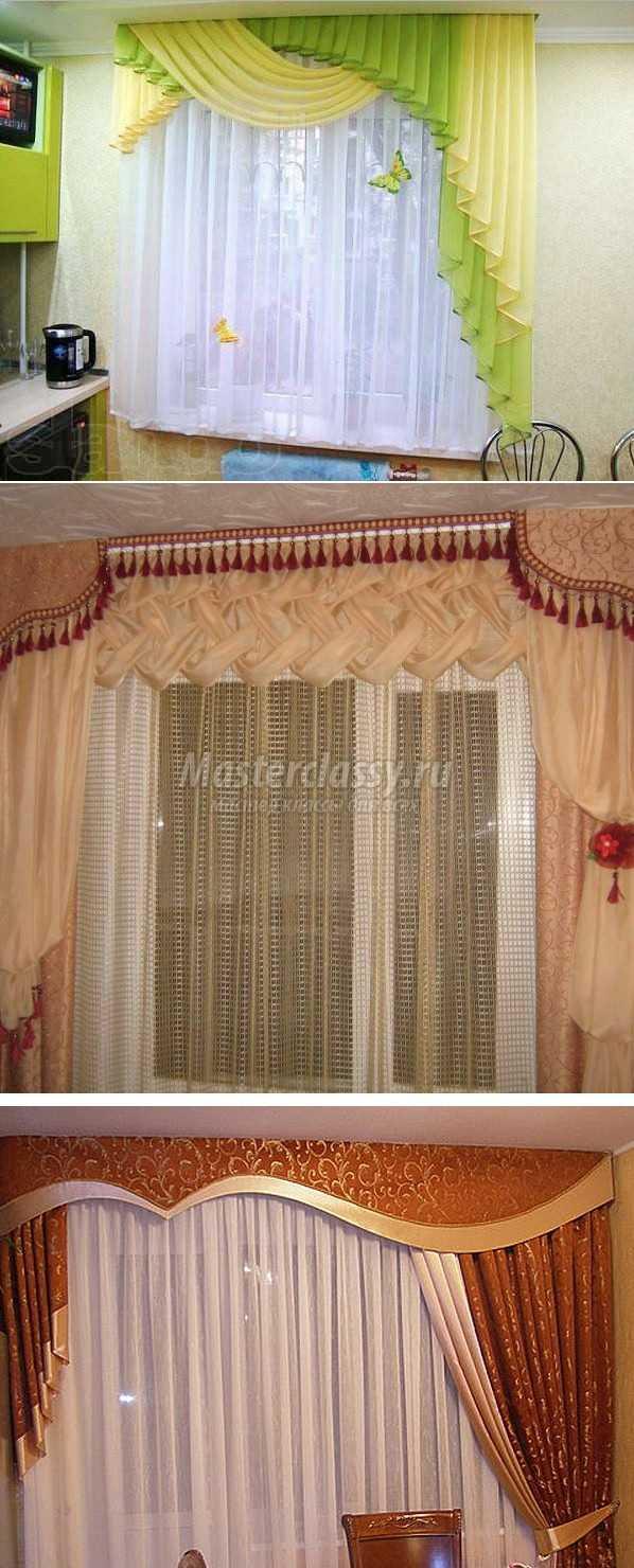 Как изготовить шторы своими руками фото 157