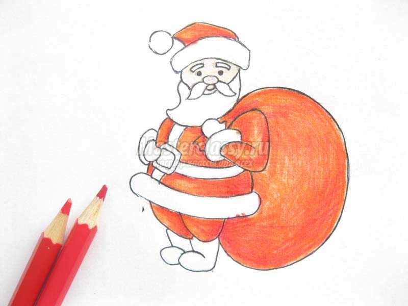 Новогодние рисунки на Новый год красивые картинки для срисовки карандашом