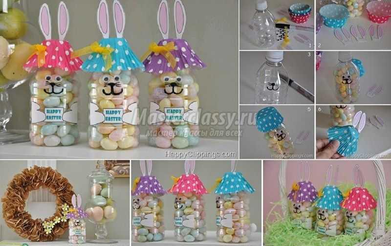 1489583659_diy-easter-bunny-bottle_307103-copy Подарок на пасху своими руками: 10 идей с пошаговым фото