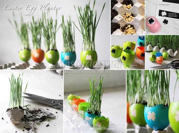 1489583677_diy-easter-egg-planter-copy Подарок на пасху своими руками: 10 идей с пошаговым фото
