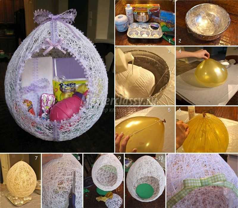 1489583699_diy-egg-shaped-easter-basket-from-string-thumb-copy Подарок на пасху своими руками: 10 идей с пошаговым фото