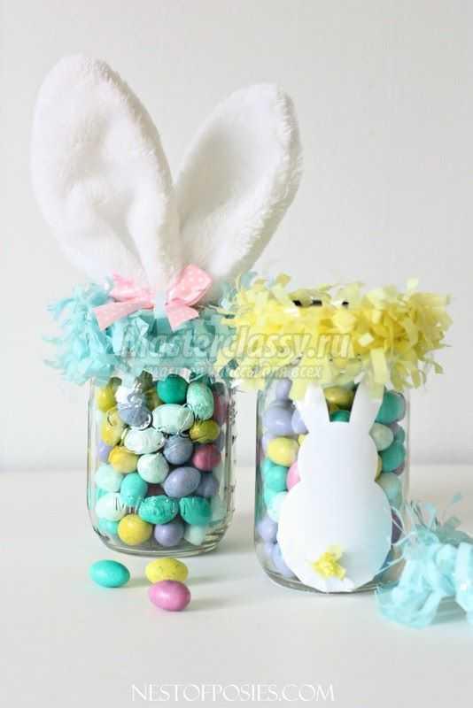 1489583716_diy-easter-bunny-mason-jar-easter-basket-homemade-easter-basket-for-kids-edible-party-favors-f87093-copy Подарок на пасху своими руками: 10 идей с пошаговым фото