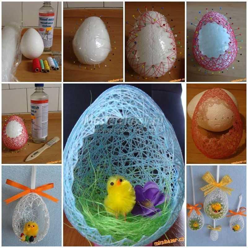 1489583724_diy-easter-egg-basket-from-thread-copy Подарок на пасху своими руками: 10 идей с пошаговым фото