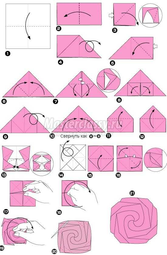 Осенние листья из бумаги: делаем оригами вместе с детьми