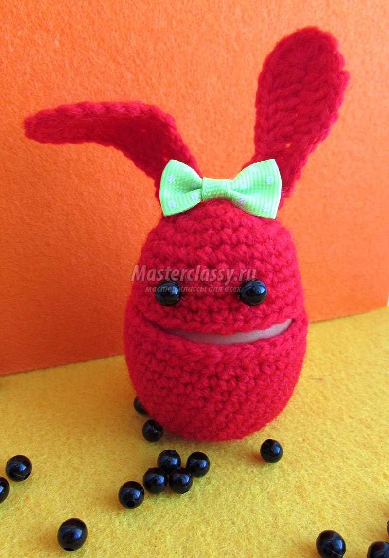 подставка для яиц пасхальный кролик