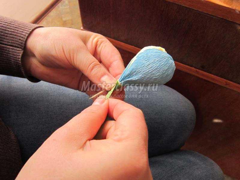 конфеты из бумаги своими руками крокусы