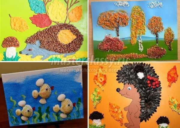 1491818232_applikacii3 Осенние поделки в детский сад: 100 мастер-классов с пошаговым фото