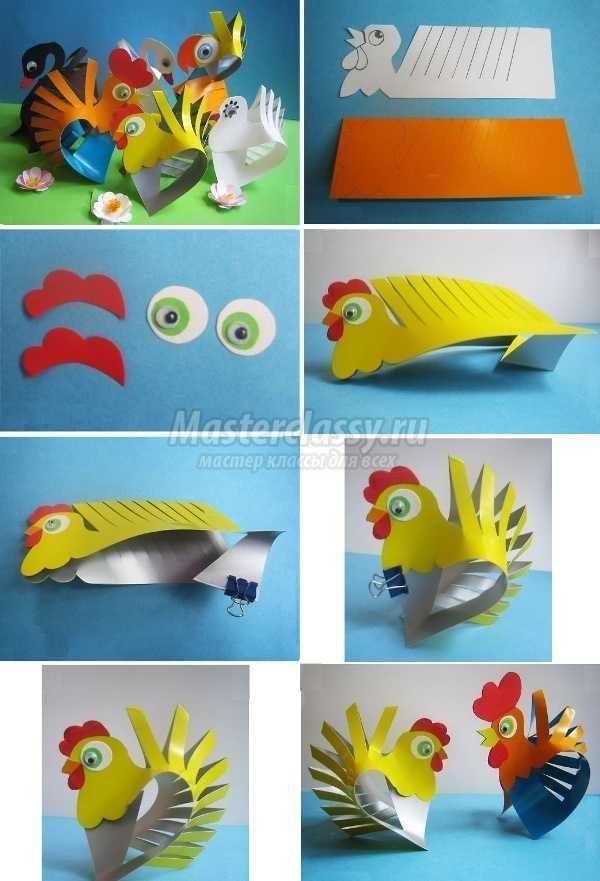 1491818253_zverushki2 Осенние поделки в детский сад: 100 мастер-классов с пошаговым фото