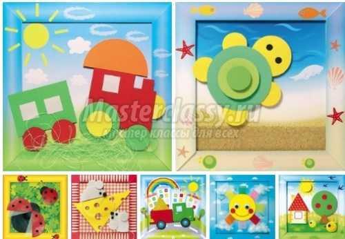 1491818260_applikacii1 Осенние поделки в детский сад: 100 мастер-классов с пошаговым фото