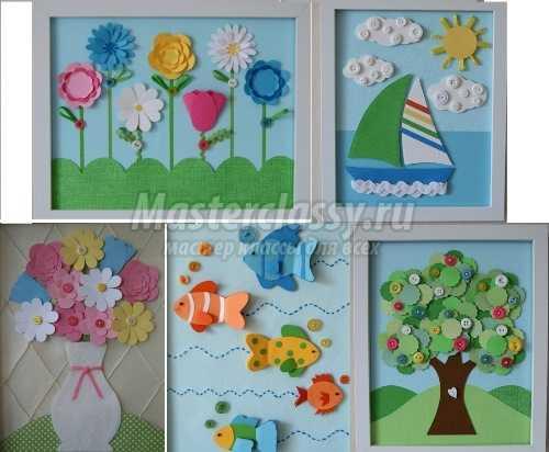 1491818284_applikacii2 Осенние поделки в детский сад: 100 мастер-классов с пошаговым фото