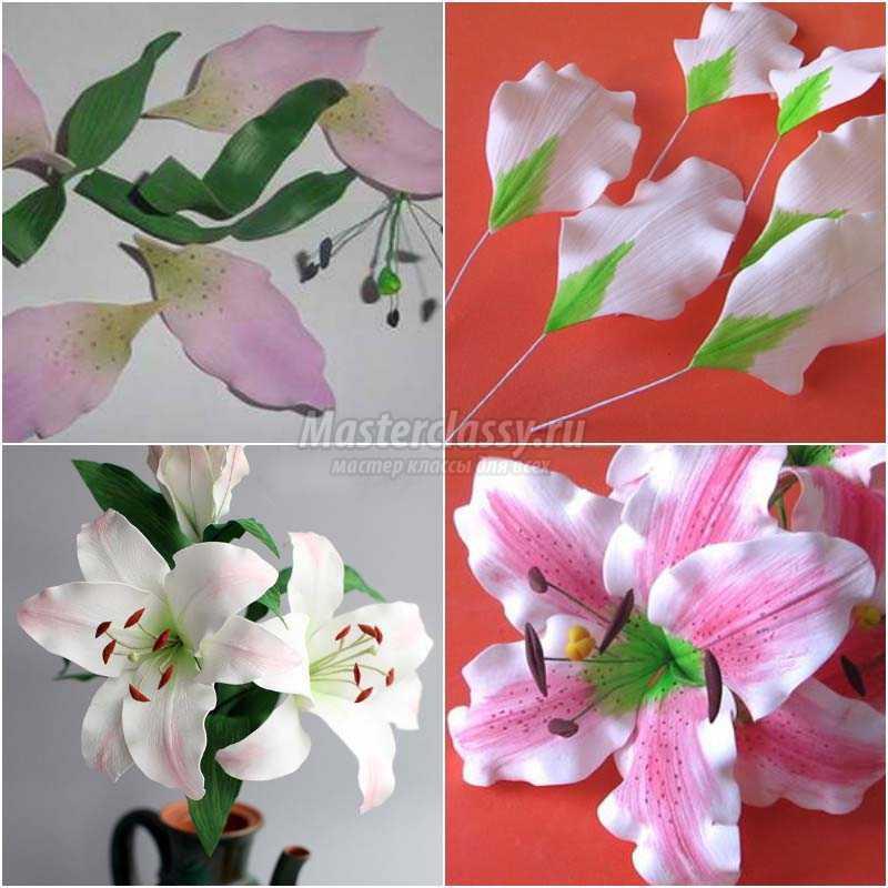 Цветы из фоамирана: лучшие мастер-классы с фото