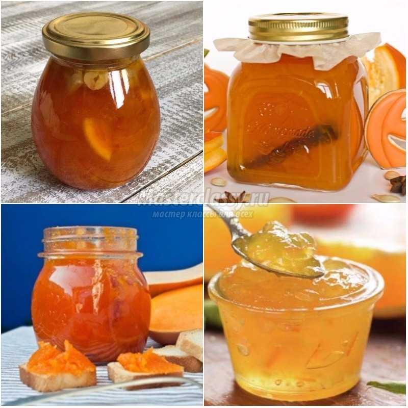 Варенье из тыквы с апельсином: золотые рецепты с фото