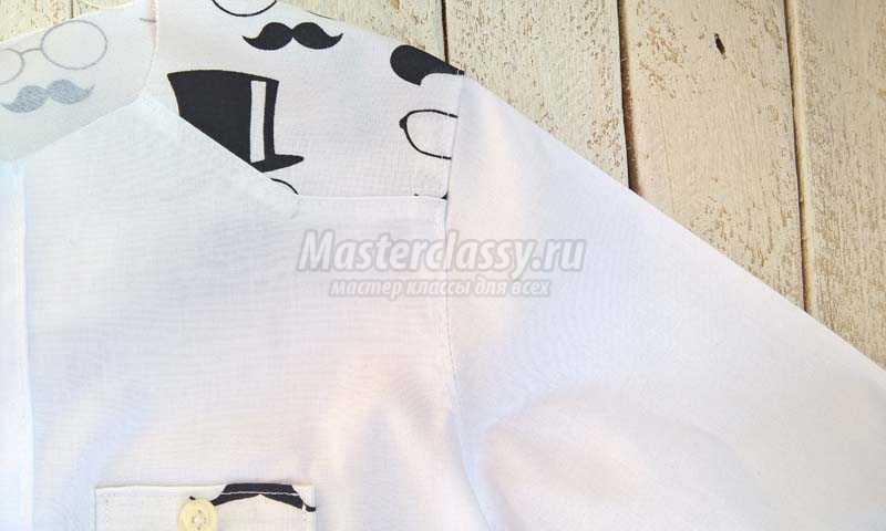 1500051921_24 Как сшить рубашку для мальчика. Мастер-класс с фото