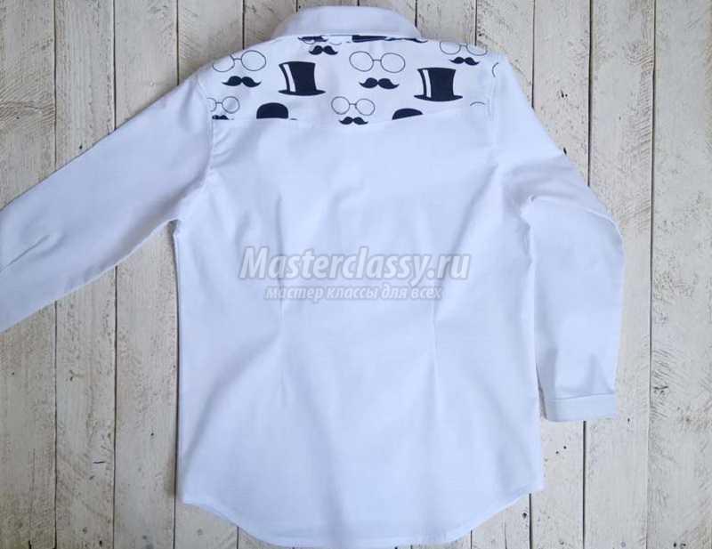 1500051959_38 Как сшить рубашку для мальчика. Мастер-класс с фото