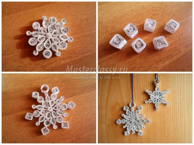 1506632479_collage3 Объемные снежинки из бумаги своими руками, с эффектом 3D, в форме шара и звезды, с использованием старых газет и втулок от туалетной бумаги