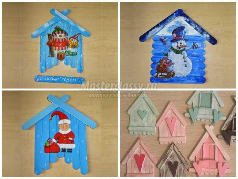 1508938012_collage5 Детские зимние поделки своими руками: пошаговые мастер-классы