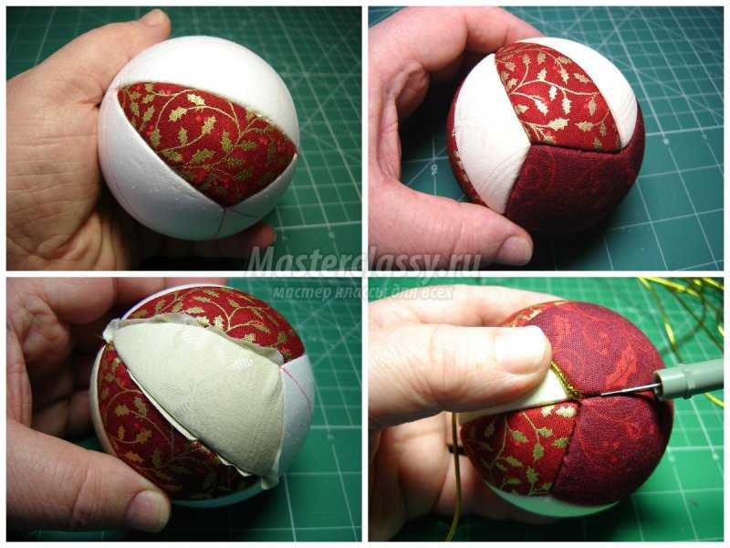 1509649805_collage3 Новогодние шары своими руками: ТОП