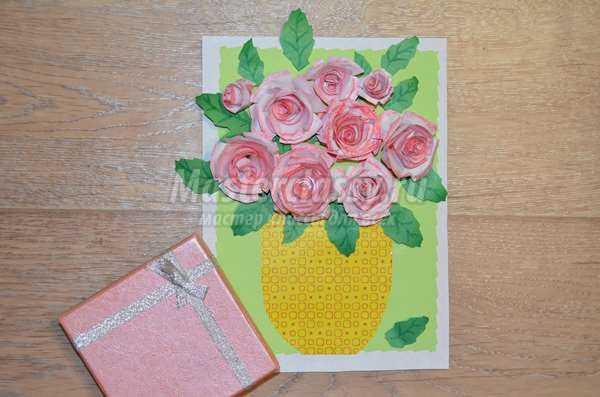 Цветы розы бумаги своими руками