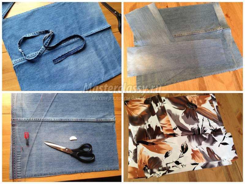 1527274116_collage2 Сумки из старых джинсов своими руками (выкройки)