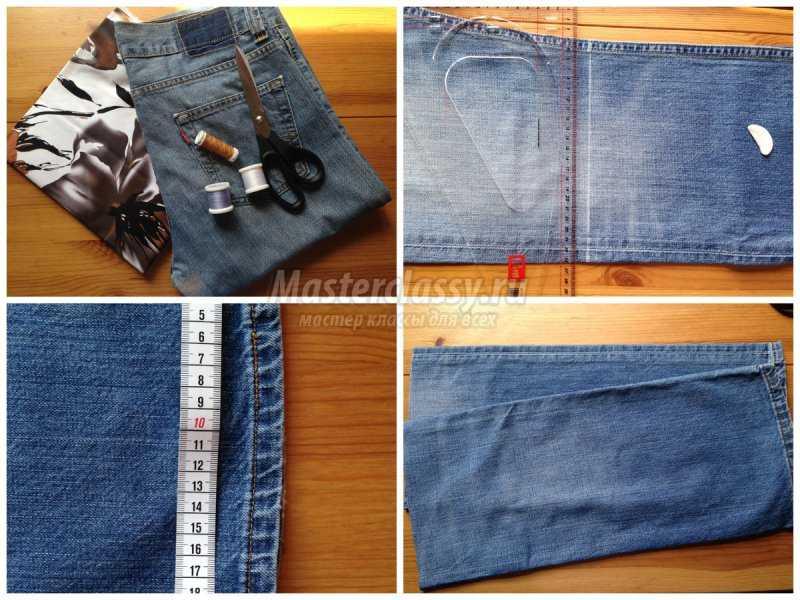 1527274117_collage1 Интересные варианты пошива сумок из старых джинс