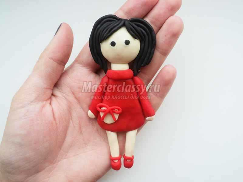 Картинки куколки из пластилина
