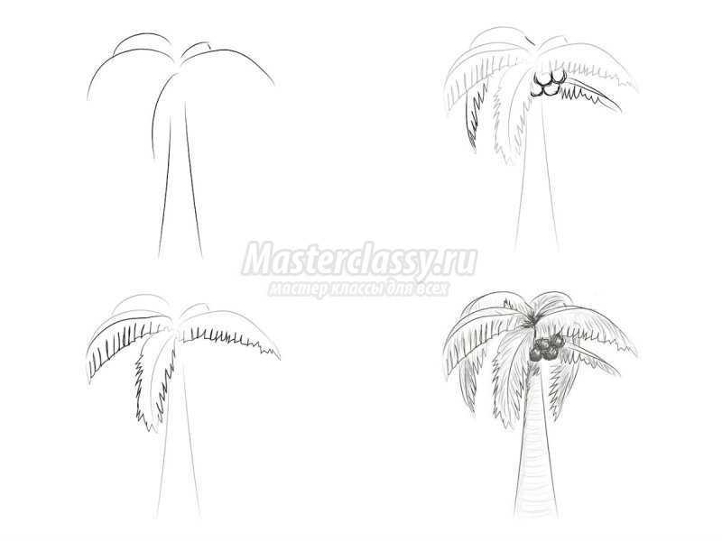1540407602_collage4 Как нарисовать дерево